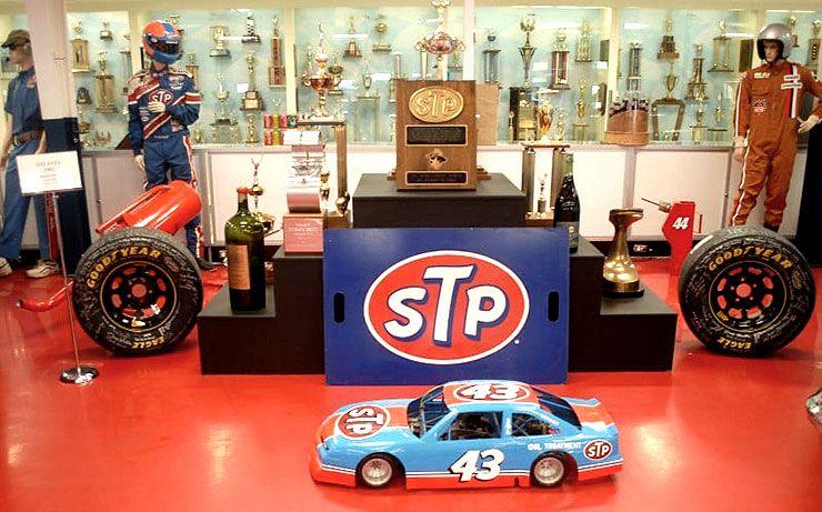 Richard Petty trophies