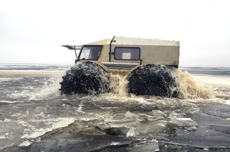 SHERP the ultimate amphibious ATV