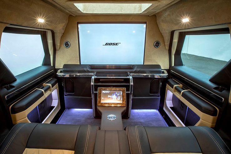 USSV Rhino GX Executive interior