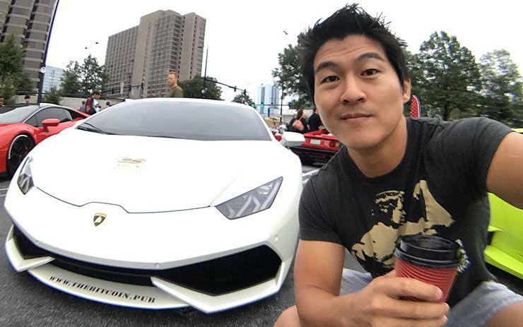 this guy bought a Lamborghini Huracan for 115 dollars