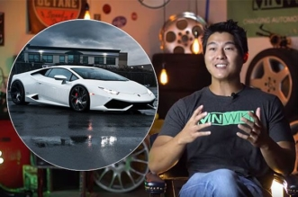 this guy bought a Lamborghini with Bitcoin for 115 dollars