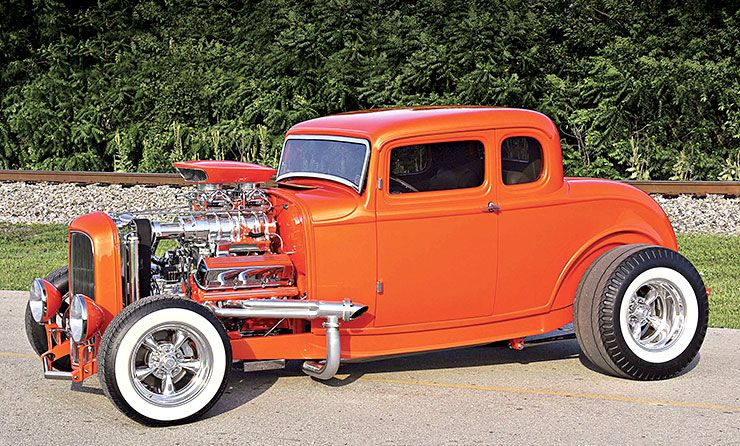 1932 Ford Five-Window Coupe Ron Wolcott