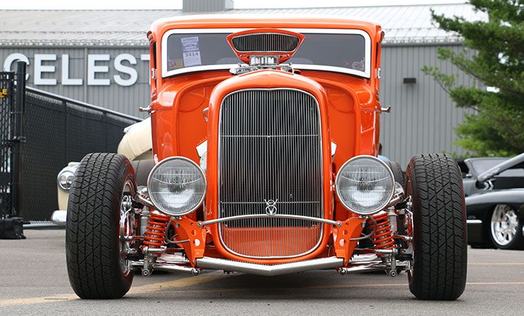 1932 Ford Five-Window Coupe Street Shaker front