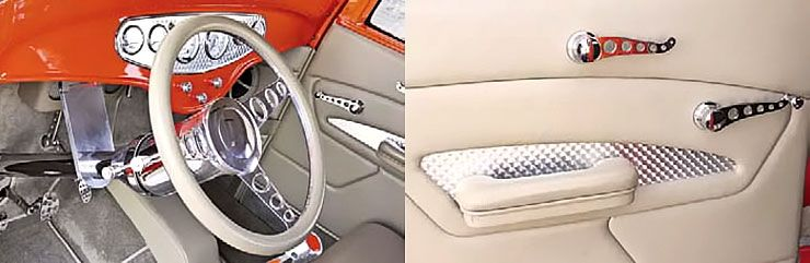 1932 Ford Five-Window Coupe Street Shaker interior