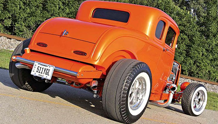 1932 Ford Five-Window Coupe Street Shaker rear