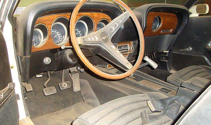 1969 Boss 429 interior