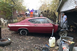 1969 Yenko SC Chevelle buried in a garage more than 47 years