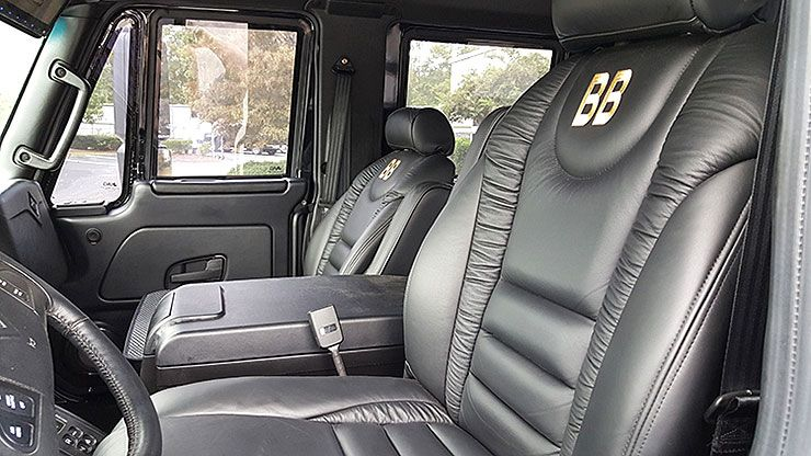 2017 International Workstar SuperTruck Six Door 4x4 Pickup interior