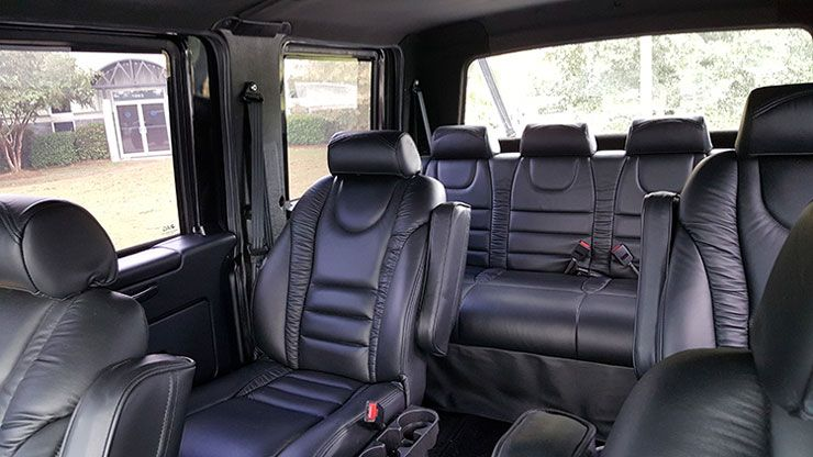 2017 International Workstar SuperTruck Six Door 4x4 Pickup rear sits