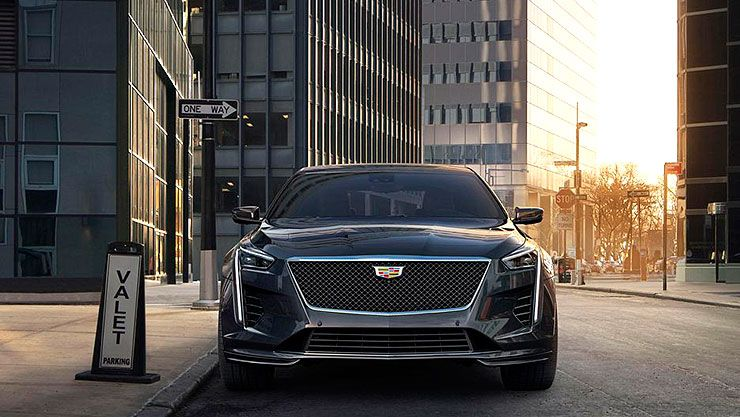 2019 Cadillac CT6 V-Sport front
