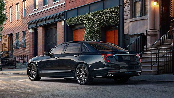 2019 Cadillac CT6 V-Sport rear left