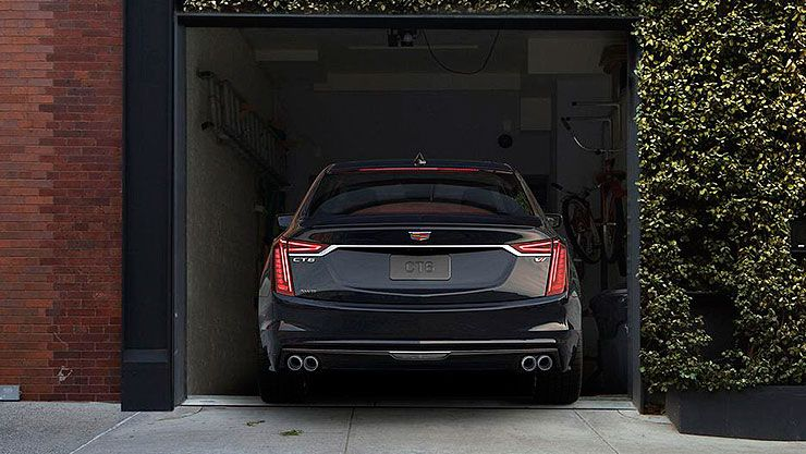 2019 Cadillac CT6 V-Sport rear