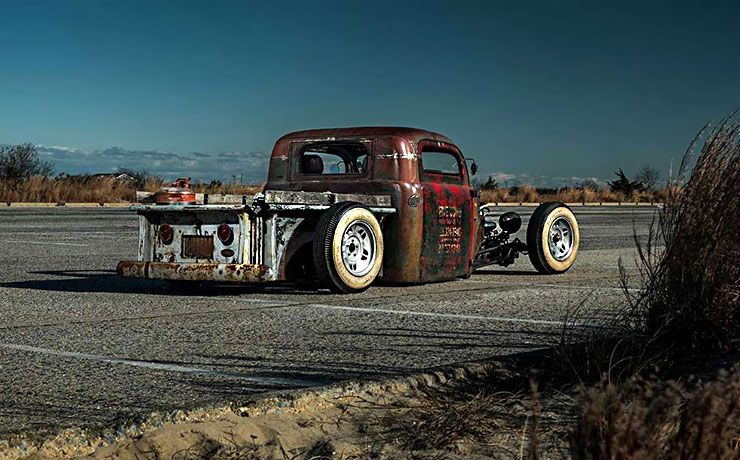 Blasfamous - Chris Lees 1949 Ford pickup rat rod
