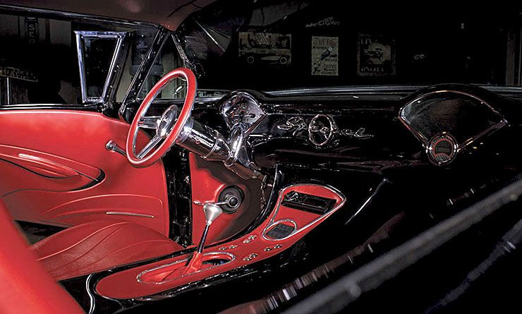 Custom 1957 Buick Special interior