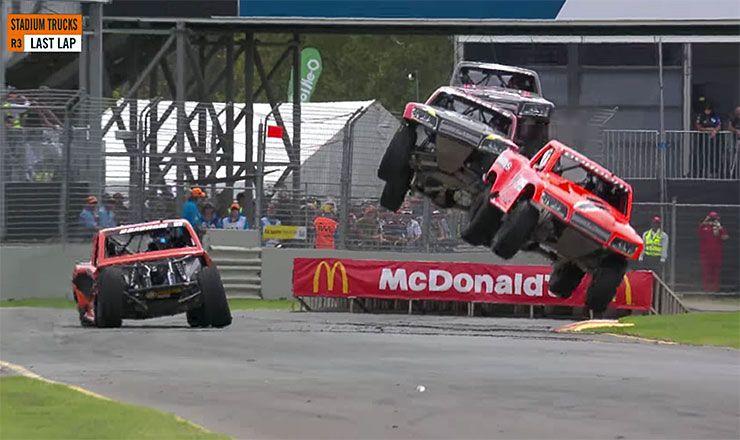 Matt Brabham Adelaide 2018 stadium super truck winner