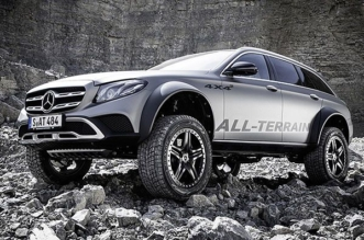 Mercedes E400 All-Terrain 4x4 squared