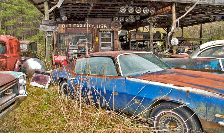 Old Car City Usa junkyard museum