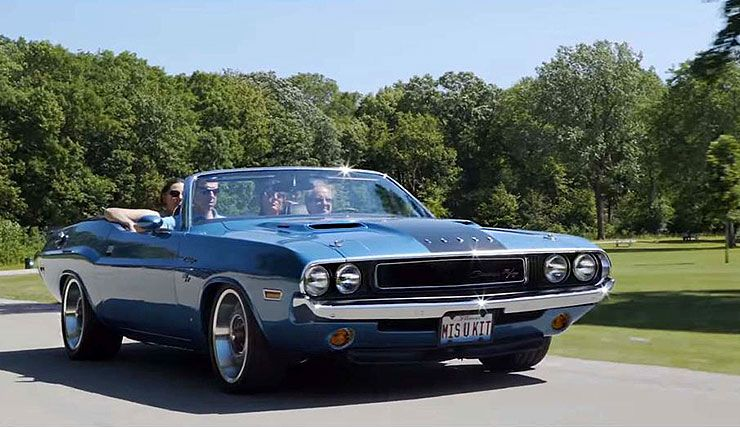 Schmidts 1970 Dodge Challenger RT convertible