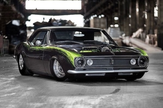 Stunning 1967 Camaro powered by V12 LS1 engine