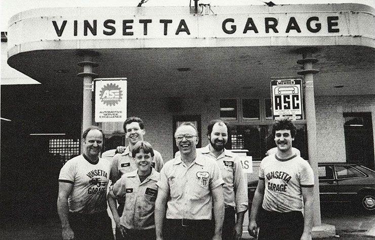 Vinsetta Garage crew back in a days