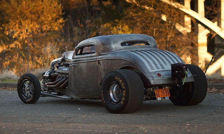 1934 Ford Twin-Turbo Big-Block Coupe rear