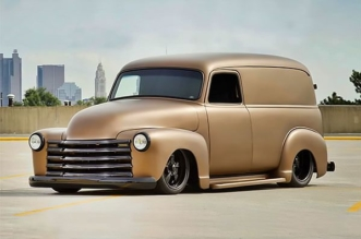1947 Chevy panel truck