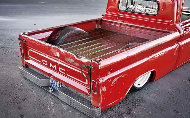 1964 GMC Pickup bed - The GOAT