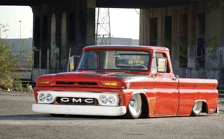 1964 GMC Pickup front left - The GOAT