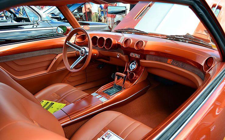 1969 Camaro RS9 Interior