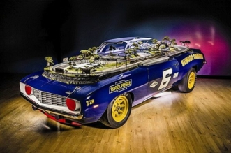 1969 Chevy Camaro slot-car track