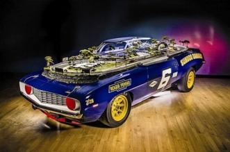 1969 Chevy Camaro slot-car track