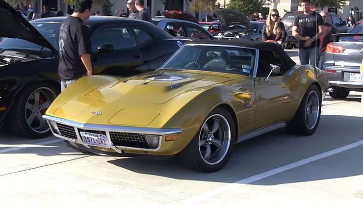 1971 Corvette Stingray ZR1 with LS9 engine