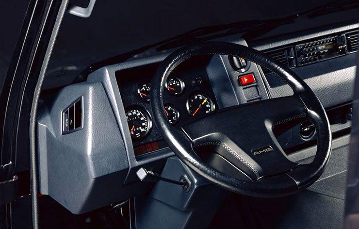 1989 AMG MB 100 D dashboard