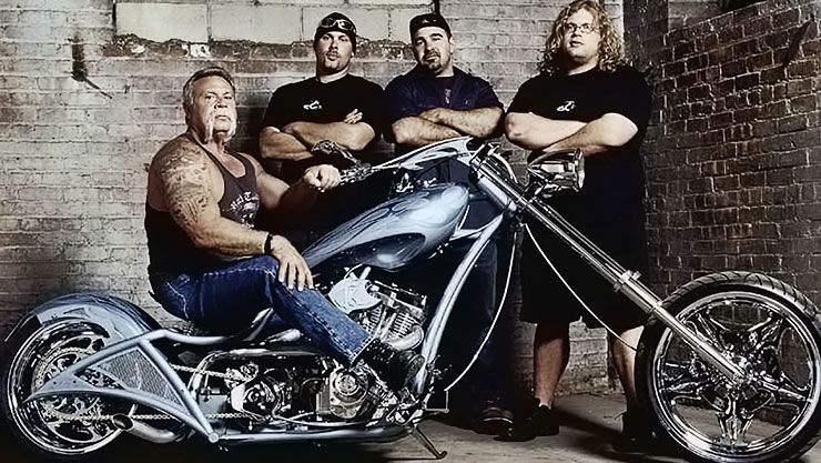 American Chopper team