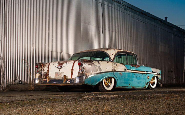 Boosted Bela 1956 Chevrolet Bel Air rear