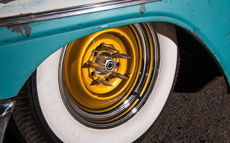 Boosted Bela 1956 Chevrolet Bel Air wheels
