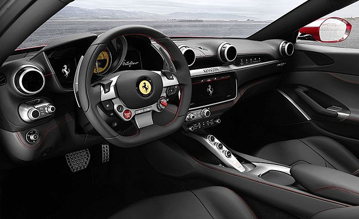 Ferrari Portofino enterior