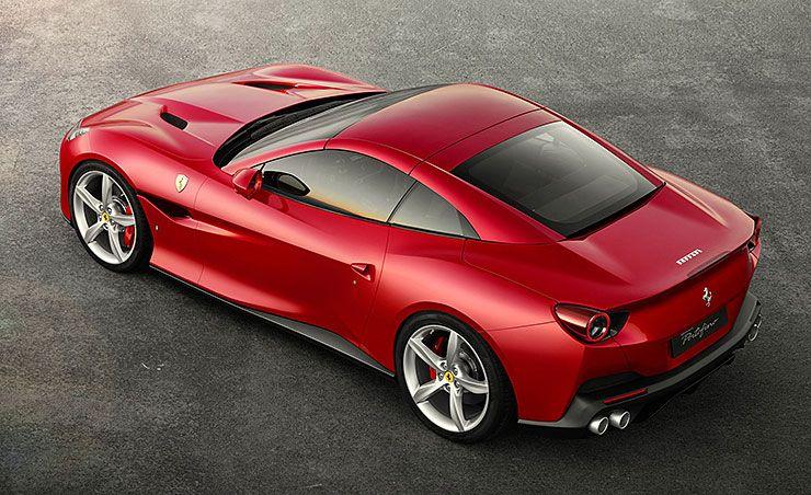 Ferrari Portofino top