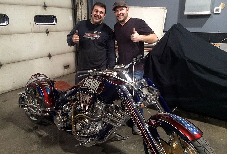 Vinnie DiMartino and Paul Teutul Jr