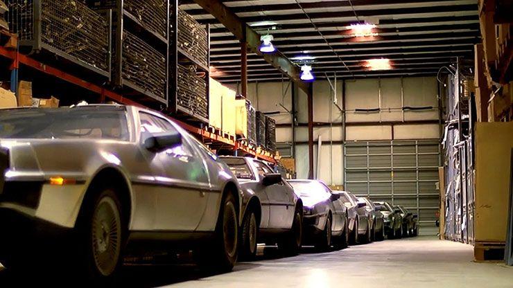 factory new DeLorean DMC 12