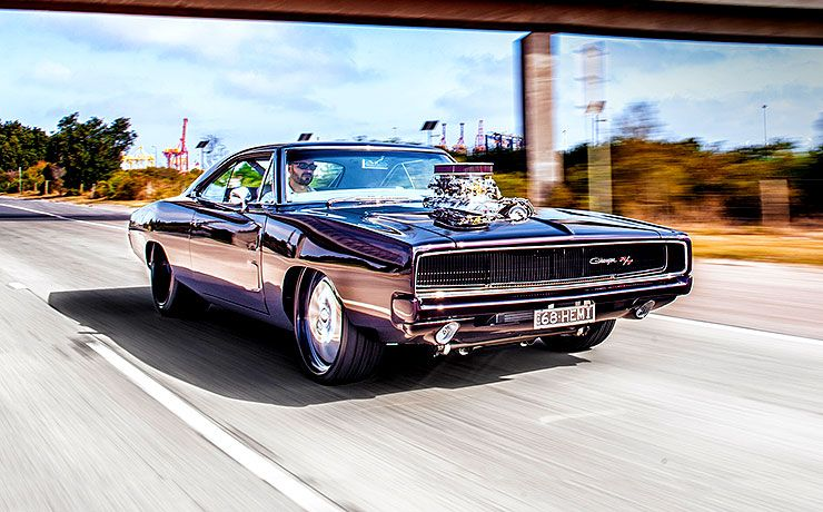 1000Hp blown 1968 Charger streeter