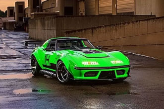 1968 Pro Touring Chevy Corvette - The Green Mamba