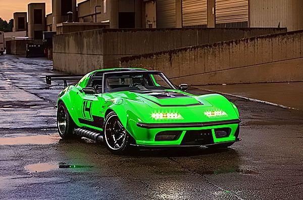 "A Wild And Venomous 1968 Pro Touring Chevy Corvette ""The Green Mamba"