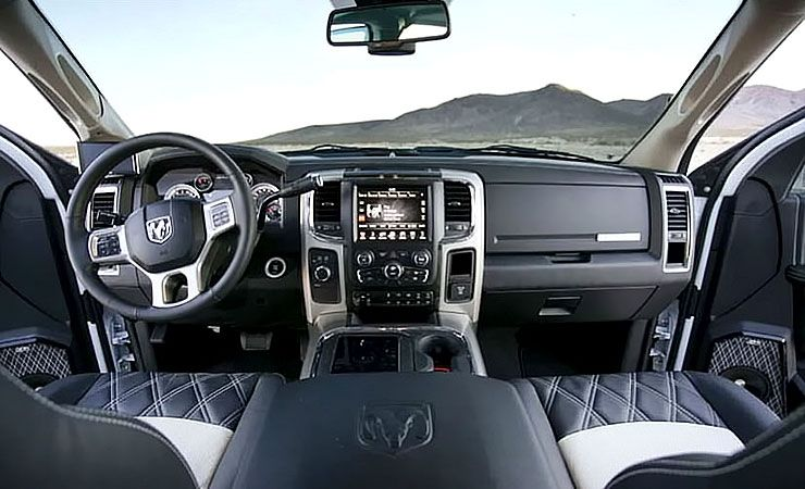 2016 Dodge Ram 2500 custom interior