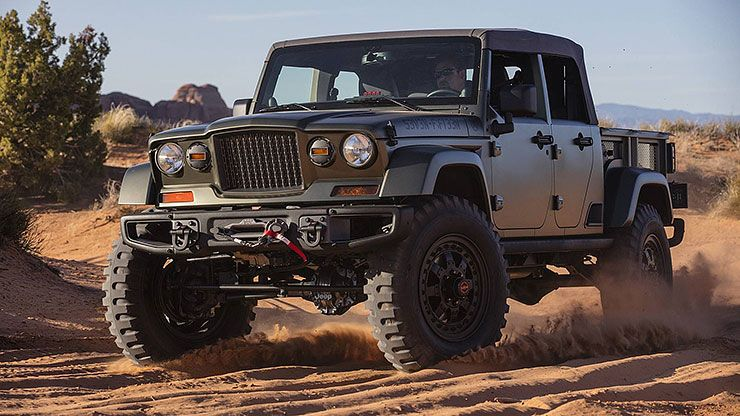 2016 Jeep Crew Chief 715 concept front