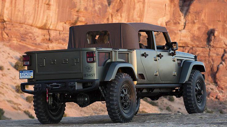 2016 Jeep Crew Chief 715 concept rear