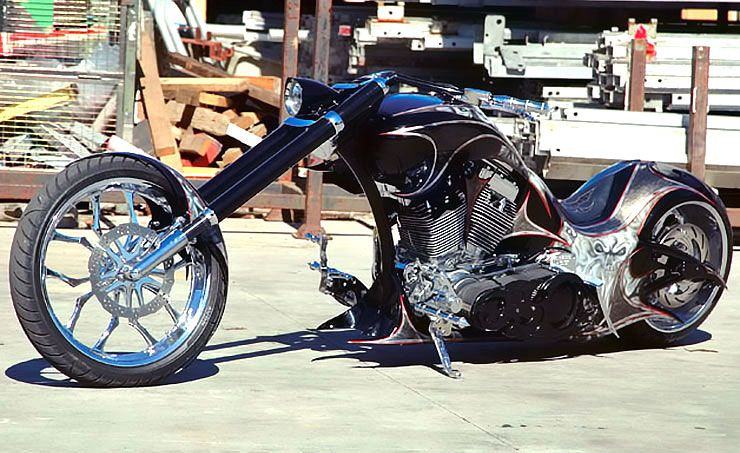 Jamals Chopper out of hell