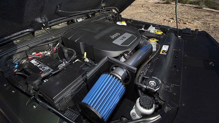 Jeep Crew Chief concept engine