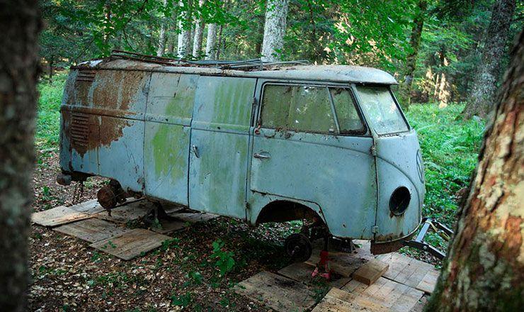 Resurrection 1955 VW Combi