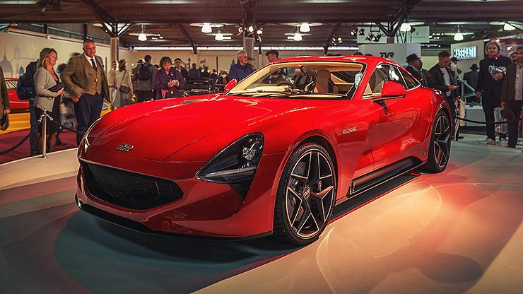 TVR Griffith front left